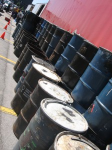 Drums for HHW collection and transportation