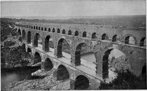 The-Pont-Du-Gard Roman Aqueduct