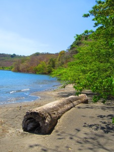 Natural Beach Landscape on the Gulf of Papagayo