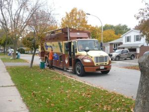 Miller Truck Collecting Recycling & Organics