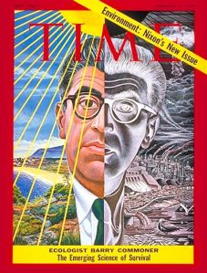 Barry Commoner on Time Magazine Cover for First Earth Day