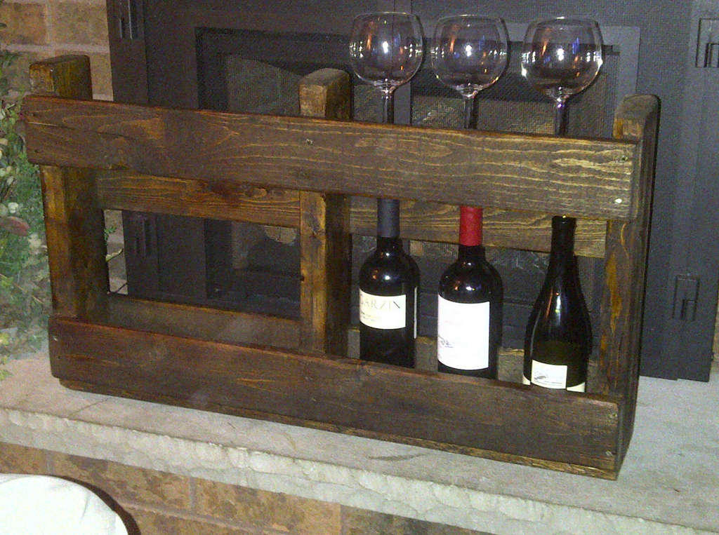 mission wine rack plans