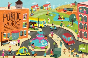 Because of public works, by Jannie Ho, for National Public Works Week 2013