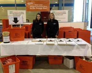 450 Residents picked up Orange Boxes at the Halton Ecofest