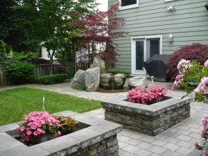 The serenity garden at Breast Cancer Support Services